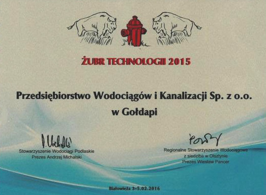 Żubr Technologii 2015
