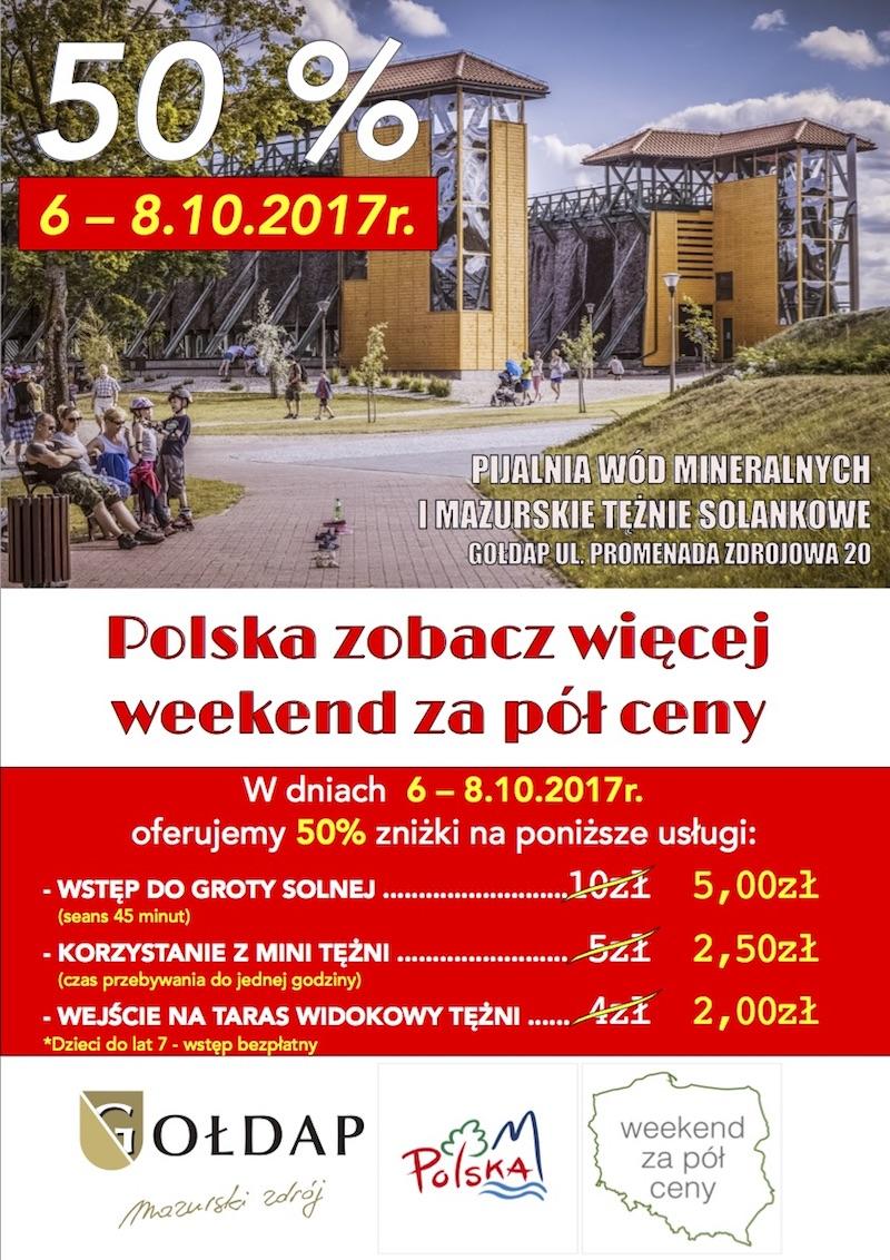 Polska Zobacz więcej - Weekend za pół ceny!